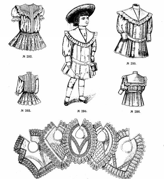 девочка в старинном платье