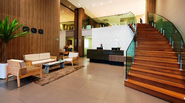 Recepção do Matiz Oásis Cabo Frio Hotel