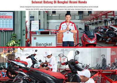lokasi bengkel AHASS Jakarta Timur lengkap