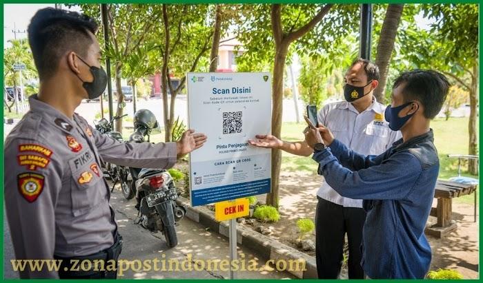 Polres Probolinggo, Wajibkan Pengunjung Gunakan Aplikasi PeduliLindungi