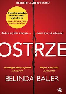 """""""Ostrze"""" Belinda Bauer"""