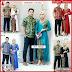 ZBT06209 Kebaya Batik Couple Longcardi Pandawa Kekinian BMGShop