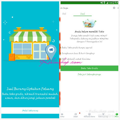 TOKOPEDIA LOGIN SELLER