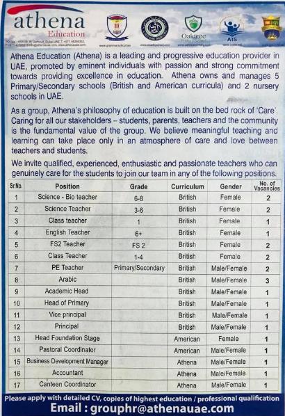 gulf news classified jobs uae 12/3/2018 - صدى وظائف الإمارات
