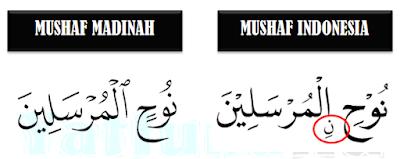 tanda nun wiqayah
