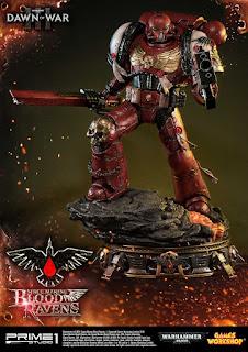 """Figuras: Galería de imágenes de Space Marine Blood Ravens de """"Warhammer 40,000: Dawn of War III"""" - Prime 1 Studio"""