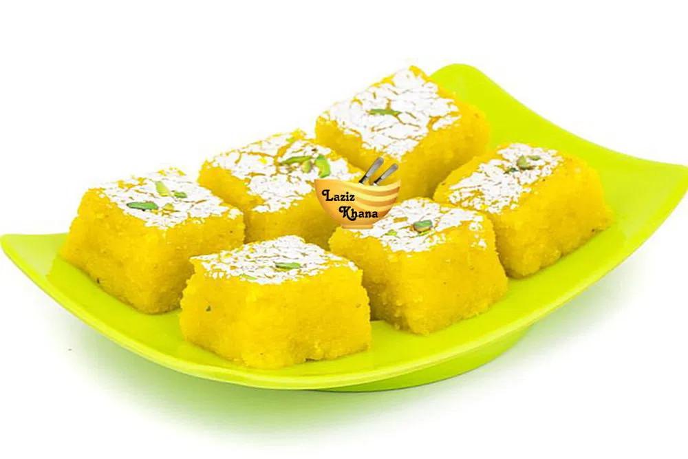 Kaju Barfi Recipe In Hindi