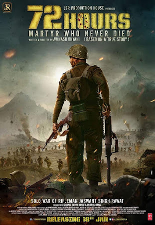 Watch Online Bollywood Movie 72 Hours: Martyr Who Never Died 2019 300MB HDRip 480P Full Hindi Film Free Download At WorldFree4u.Com