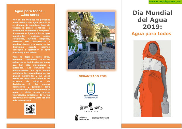 La Palma celebra el Día Mundial del Agua con un programa de actividades abiertas a todos los públicos