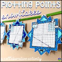 Plotting coordinate points snowflake pennants