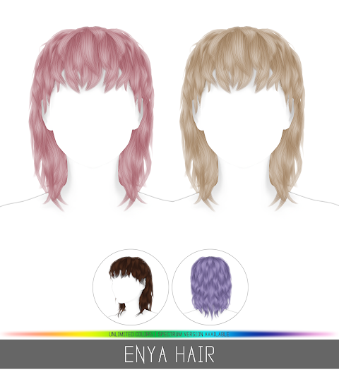 ENYA HAIR (PATREON)