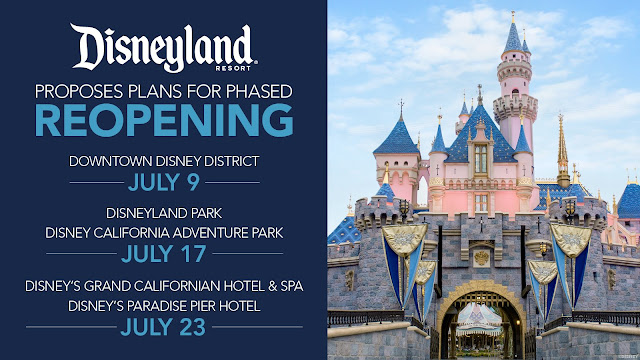 Disney, Disneyland Resort, Reopens, Reopening