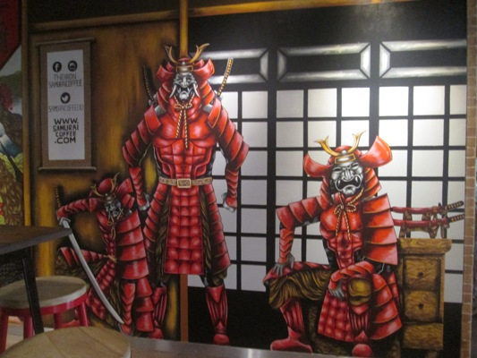 The Iron Samurai Coffee