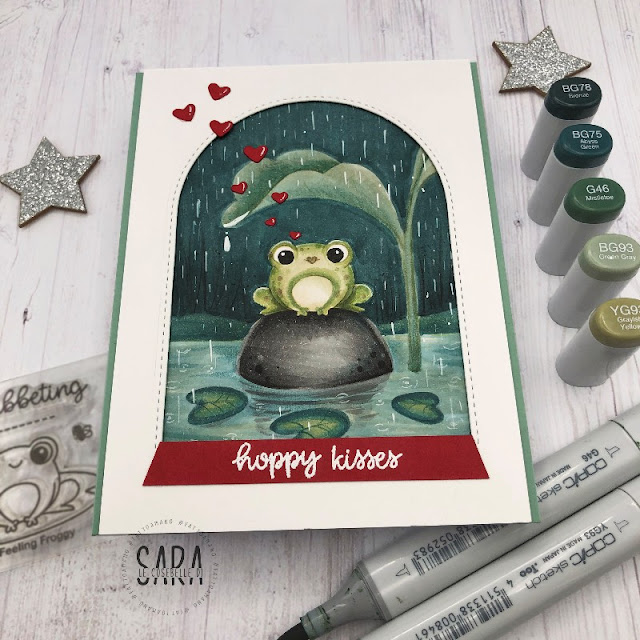 Sunny Studio Stamps: Feeling Froggy Everyday Card by Sara Zoppi