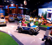 Kids Drive in Lego City: Forest Ranger Pursuit