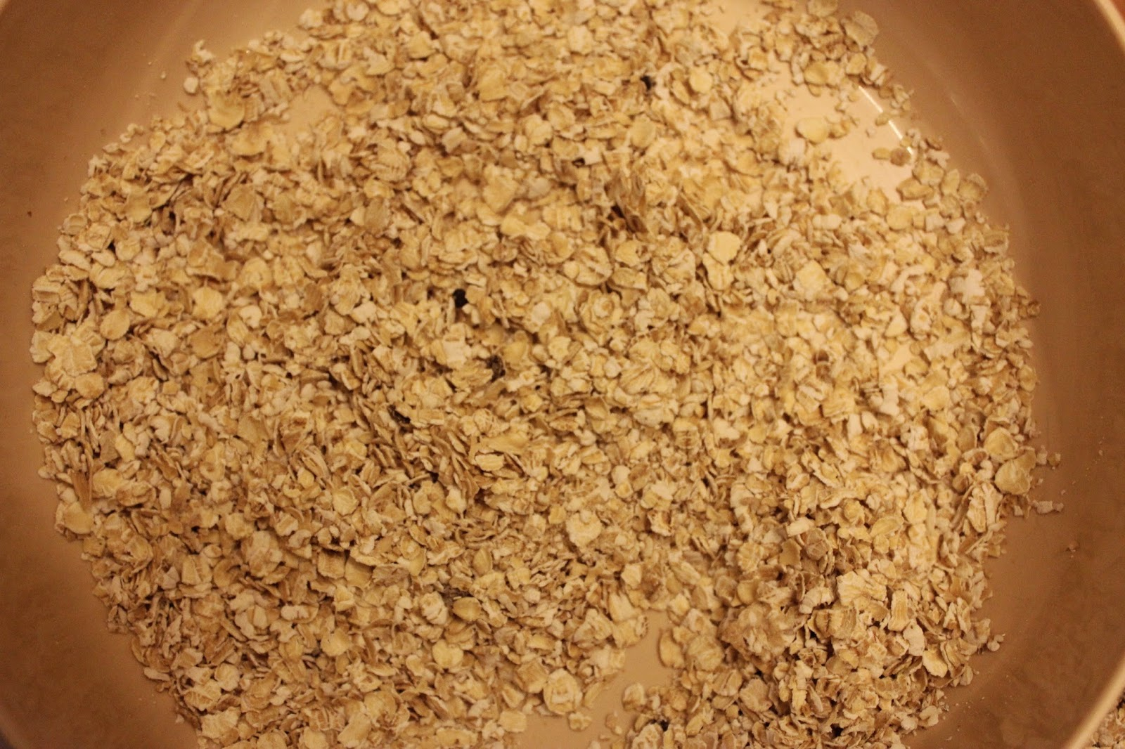 Rolled organic oats for Scottish oatcake recipe