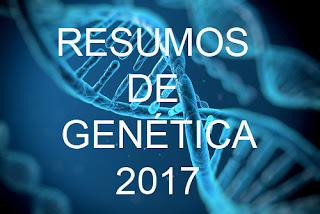 Resumo de Genética 2017