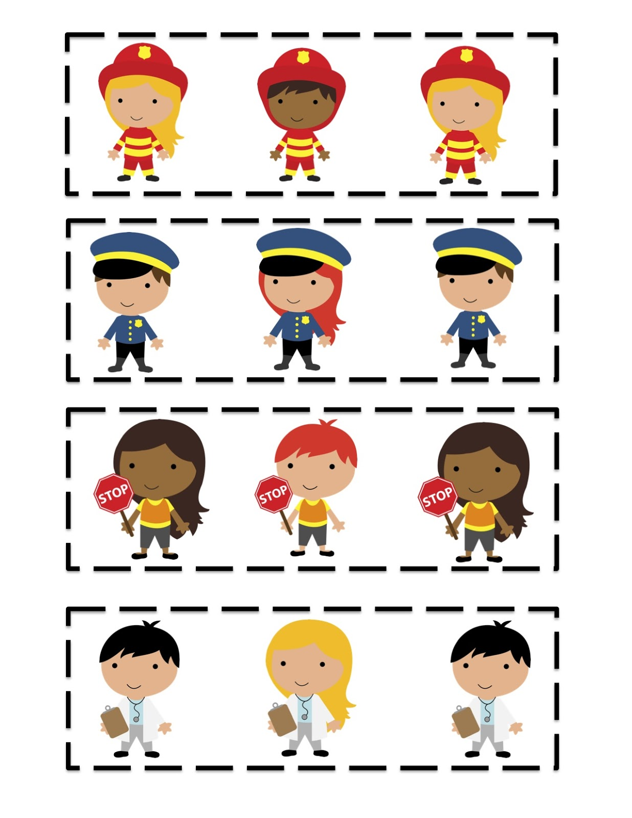 Preschool Theme Community Helpers
