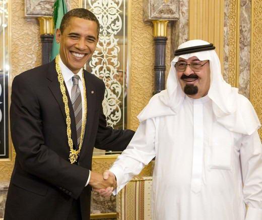 Hadiah dari Raja Abdullah untuk Obama