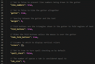 Setting Sublime Text