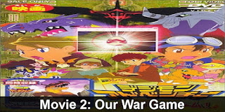 Digimon Movie 2 Our War Game Watch