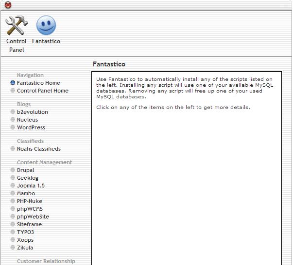 Cara Install WordPress dengan Fantastico De Luxe