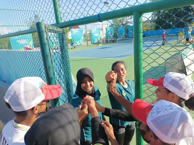8 Tim Tenis Beregu Putra dan Putri Amankan Tiket Semifinal PON XX Papua.lelemuku.com.jpg
