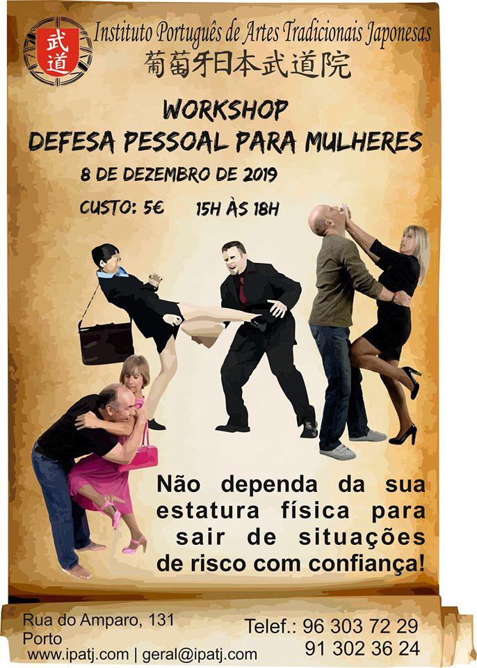 Workshop de defesa pessoal para mulheres – Porto