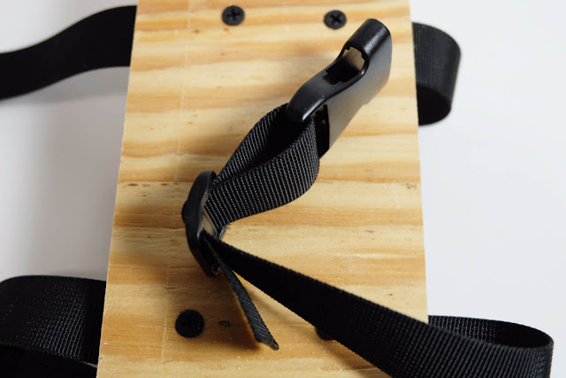 aerator shoe nylon strap buckle threading
