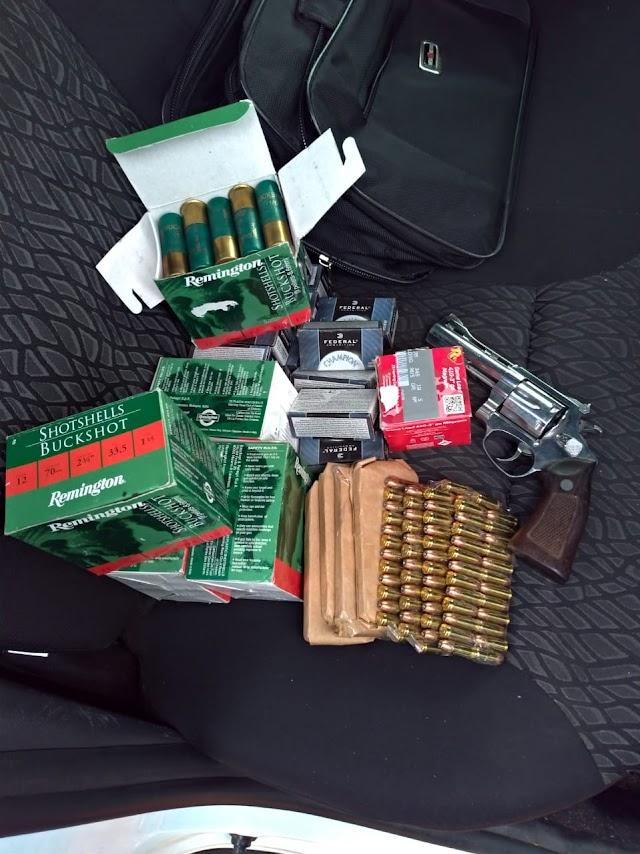 Polícia Militar localiza comércio clandestino de munições no Bubas e homem é preso