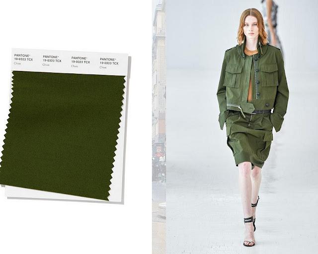 Луковичный модные цвета весна-лето 2020 1