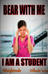 Nursing school is nearly impossible to get through unless you sacrifice everything in your life to make it through the schooling.