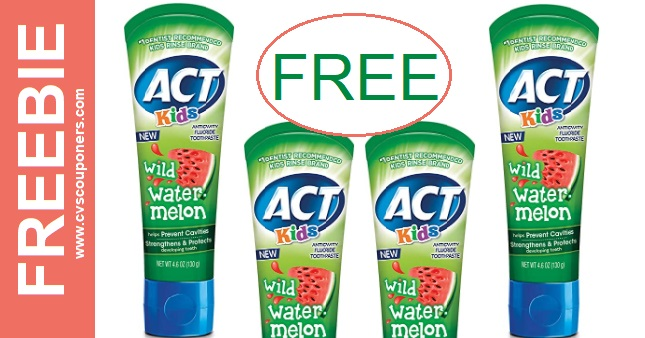 FREE Act Toothpaste CVS Deals