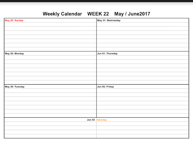 June 2017 Printable Calendar, June 2017 Calendar, June 2017 Calendar Printable, June 2017 Calendar Template, June 2017 Blank Calendar, June 2017 Calendar Holidays