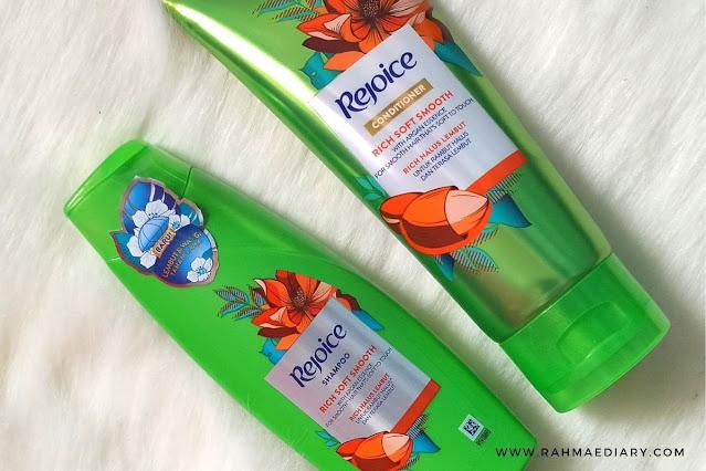 Rejoice rich soft smooth untuk rambut lembut