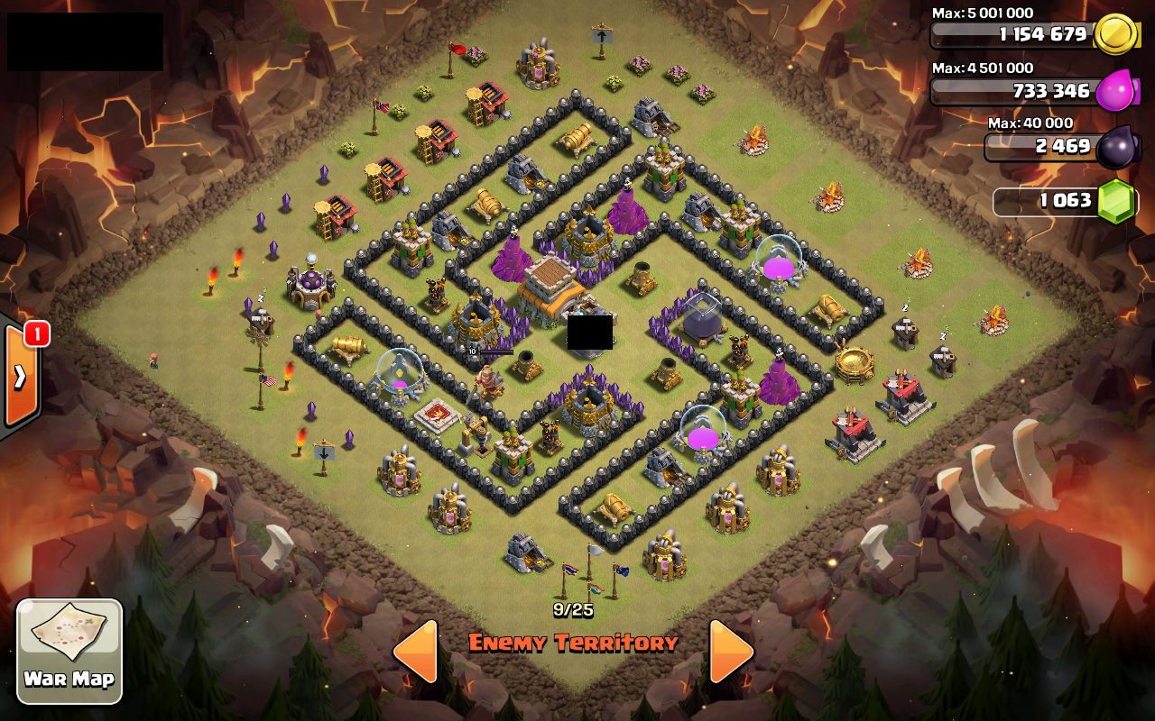 Coc base 99 th 8 war base 7