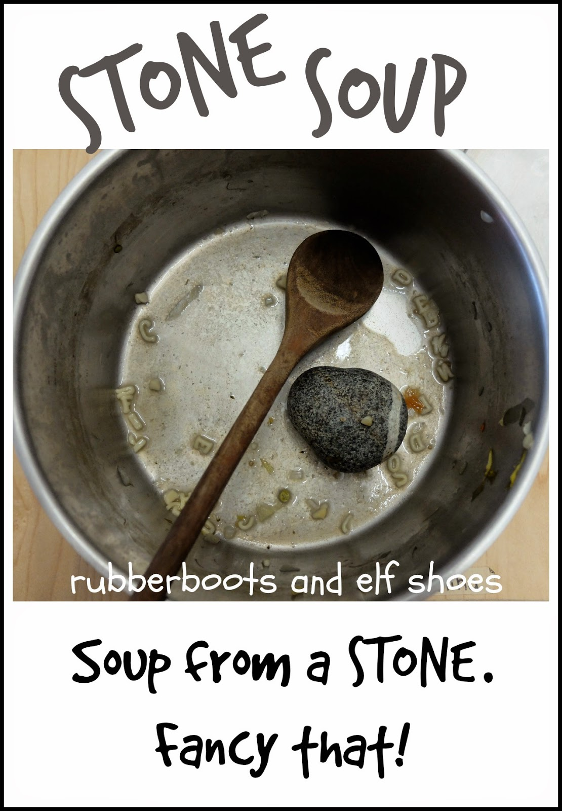 Read And Cook Stone Soup