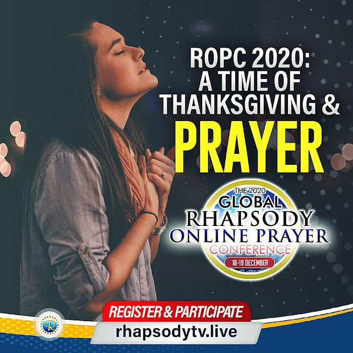ROPC 2020 – A TIME OF THANKSGIVING AND PRAYER