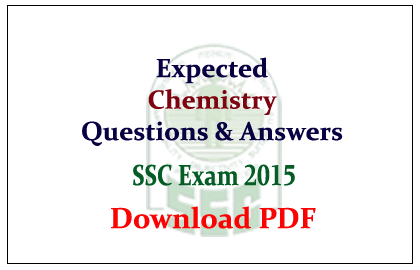 Expected Chemistry Questions and Answers Capsule Download in PDF