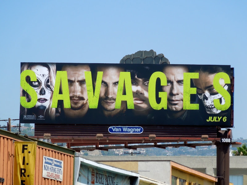 Savages billboard