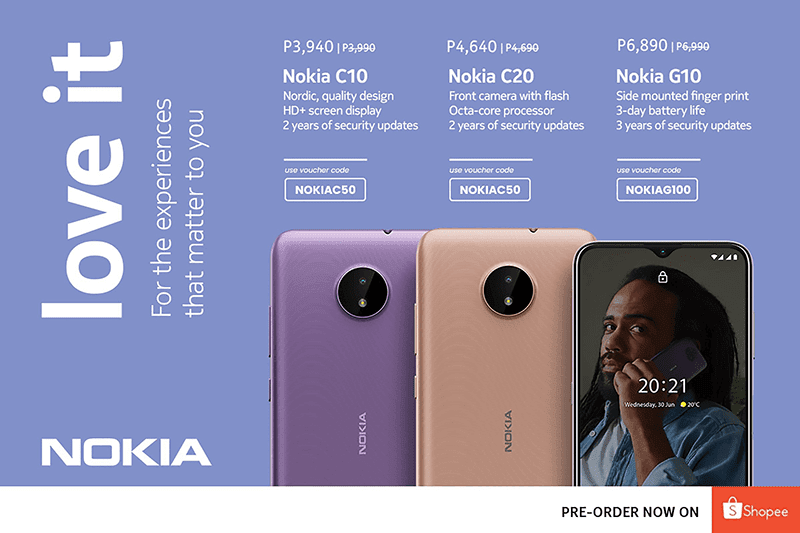 HMD brings Nokia C10, C20, and G10 to the Philippine market—starts at PHP 3,990!