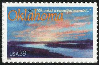 USA 39c Oklahoma Statehood 2007