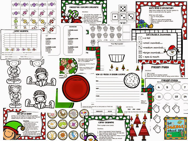 STEM Winter/Christmas Stations
