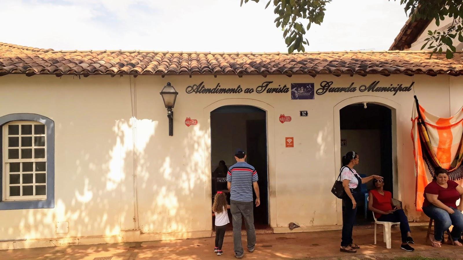 centro de atendimento ao turista em congonhas para carimbar o passaporte da estrada real