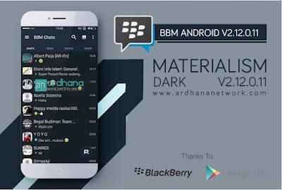 BBM Mod Materialism Dark v2.12.0.11 - CLONE