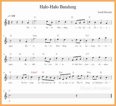 Halo Halo Bandung | Tangga Nada Diatonis Mayor dan Minor