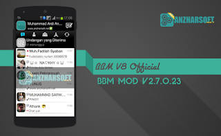 BBM v8 Apk Android - BBM BlackBerry v8 For Android