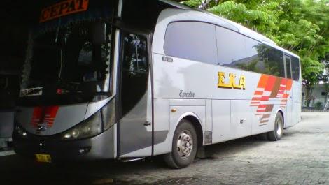 Bus Eka Cepat Surabaya ~ Jogyakarta