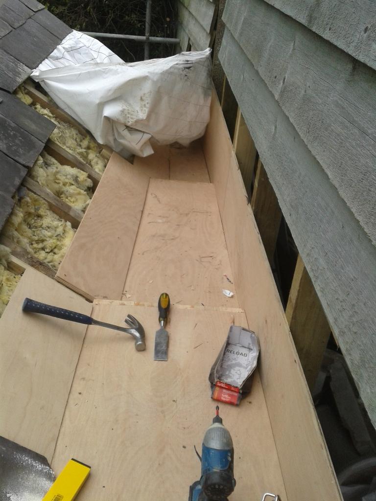 Sawdust In My Socks Making Box Gutters