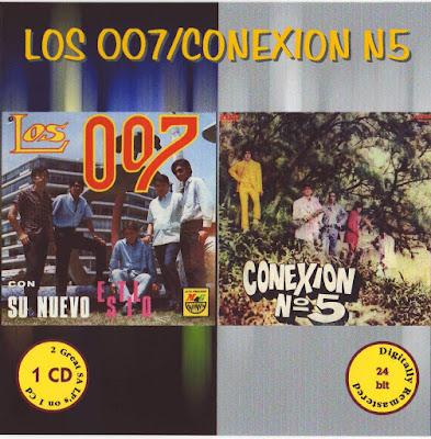 Los 007 & Conexion No. 5 - Los 007 & Conexion No. 5